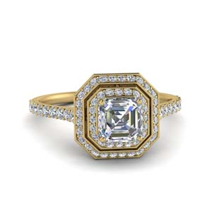 petite-asscher-diamond-engagement-ring-with-double-halo-in-FD121992ASR-NL-YG