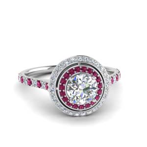 Pink Sapphire Ring For Women