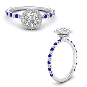round-cut-double-under-halo-micropave-engagement-rings-with-sapphire-in-FD123310RORGSABLANGLE3-NL-WG