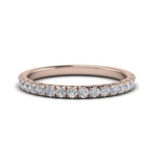 0.40 Ctw. Diamond Half Eternity Band