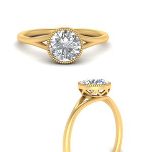One Carat Solitaire Rings
