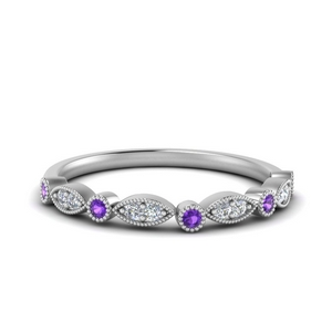 Beautiful Purple Topaz Band
