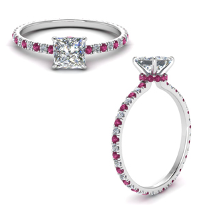 eternity-hidden-halo-princess-cut-diamond-engagement-ring-with-pink-sapphire-in-FD9168PRRGSADRPIANGLE3-NL-WG