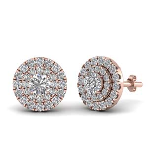 3/4 Carat Diamond Stud Earring