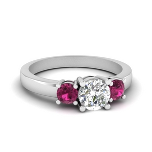Pink Sapphire Classic Ring