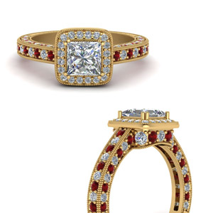 Beautiful Ruby Wedding Ring