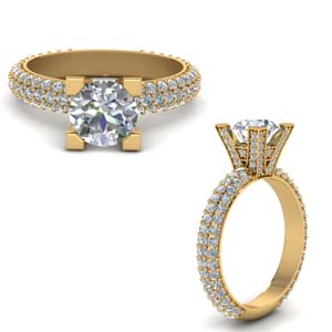 Micropave Ring 3 Ct.