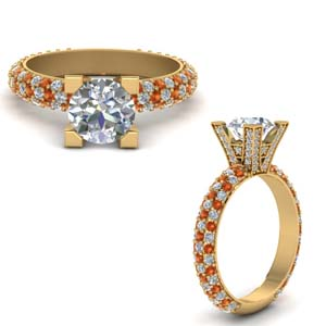 High Set Micropave Ring