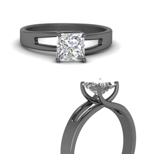 Princess Cut One Stone Ring