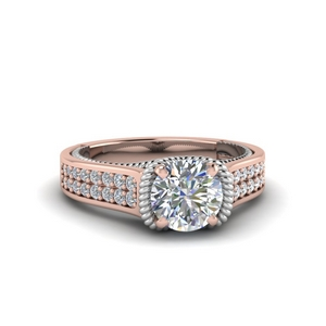 2 Row Diamond Ring