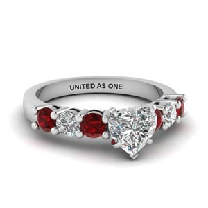 Basket Prong Ruby Ring