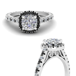 Black Diamond Vintage Rings