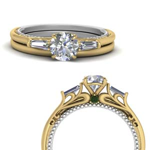 multi Tone Wedding Set
