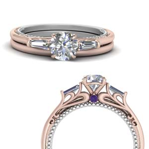 Two Tone Wedding Set