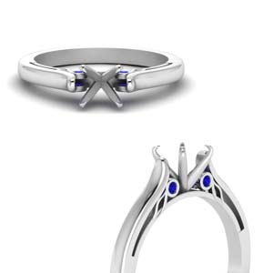 Platinum Cathedral Ring Setting