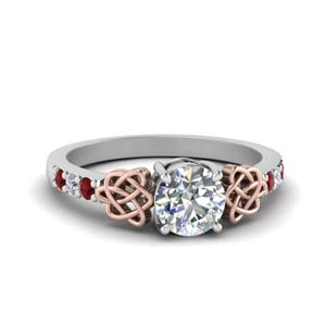 Celtic Ruby Ring