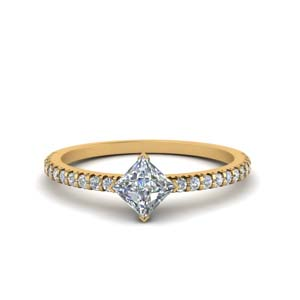Kite Style Diamond Ring