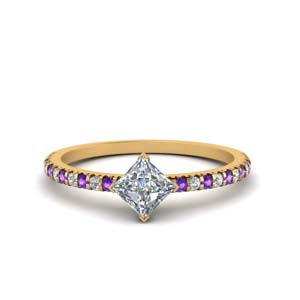 1 Ct. Kite Style Accent Ring
