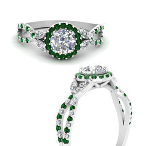 floral-split-shank-round-cut-halo-engagement-ring-with-emerald-in-FDENS3303RORGEMGRANGLE3-NL-WG
