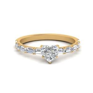 East West Baguette Diamond Ring