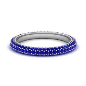 1 Ct. Diamond Micro Pave Band