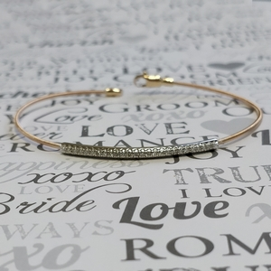 Yellow Gold Bar Design Bracelet