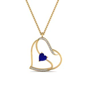 Beautiful Heart Design Pendant