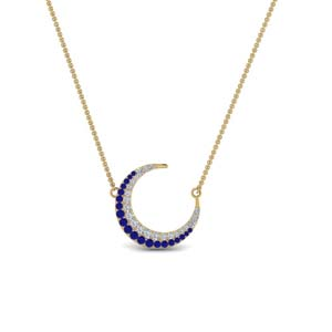 moon-necklace-diamond-pendant-with-sapphire-in-FDPD9197GSABLANGLE1-NL-YG
