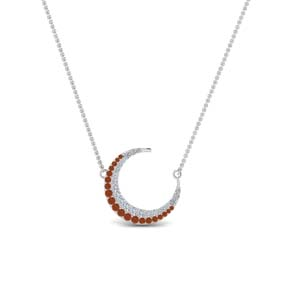 moon-necklace-diamond-pendant-with-orange-sapphire-in-FDPD9197GSAORANGLE1-NL-WG