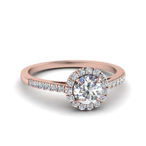Beautiful Halo Diamond Ring