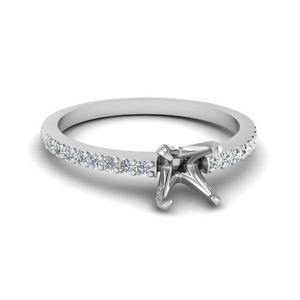 Delicate Diamond Ring Setting