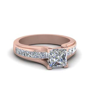 Classic Square Diamond Ring
