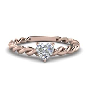 Twisted Rope Braided Ring