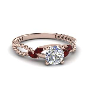 ruby braided round cut engagement ring in FD1099RORGRUDR NL RG.jpg