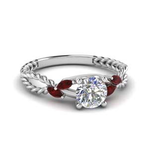 ruby braided round cut engagement ring in FD1099RORGRUDR NL WG.jpg