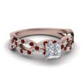 princess-cut-diamond-engagement-ring-with-red-ruby-in-14K-rose-gold-FD1121PRRGRUDR-NL-RG