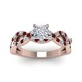 princess-cut-diamond-engagement-ring-with-red-ruby-in-14K-rose-gold-FD1121PRRGRUDRANGLE5-NL-RG