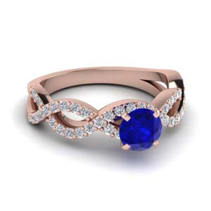 Sapphire Engagement Ring For Women