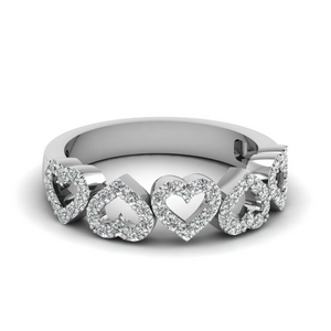 Lustrous Heart Band