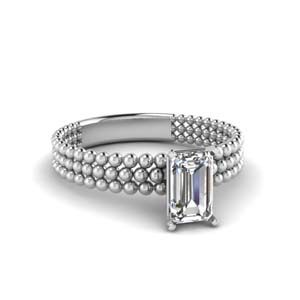 One Carat Solitaire Ring