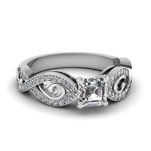 Twisted Style Modern Ring
