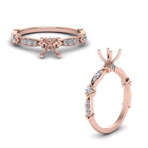 Petite Diamond Ring Setting