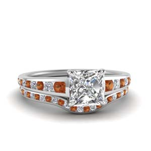 Graduated Wedding Ring Set