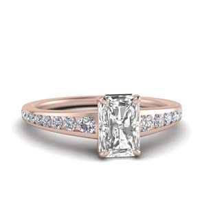 Channel Diamond Ring