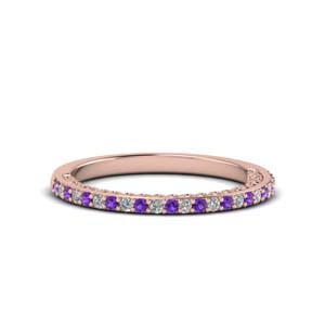 Delicate Purple Topaz Band