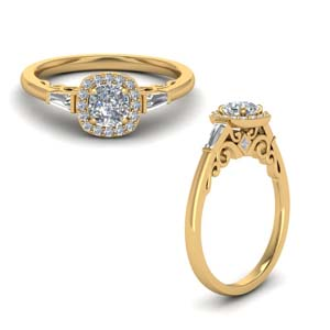 Preset Moissanite Engagement Rings