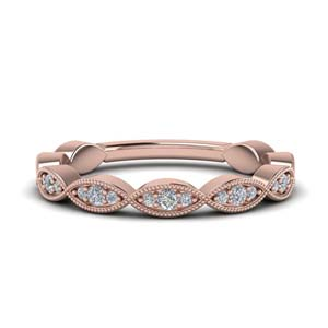 Twisted Pave Diamond Band