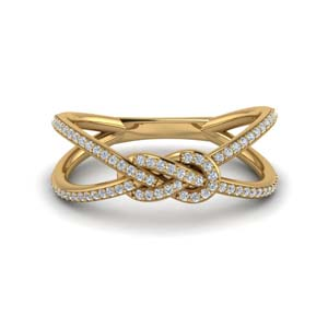 Love Knot Double Split Band