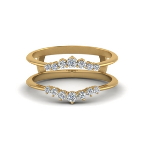 Graduated Diamond Ring Guards