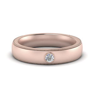 Solitaire Diamond Men Band